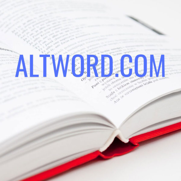 AltWord.com domain name for sale