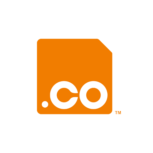 dot co domain logo