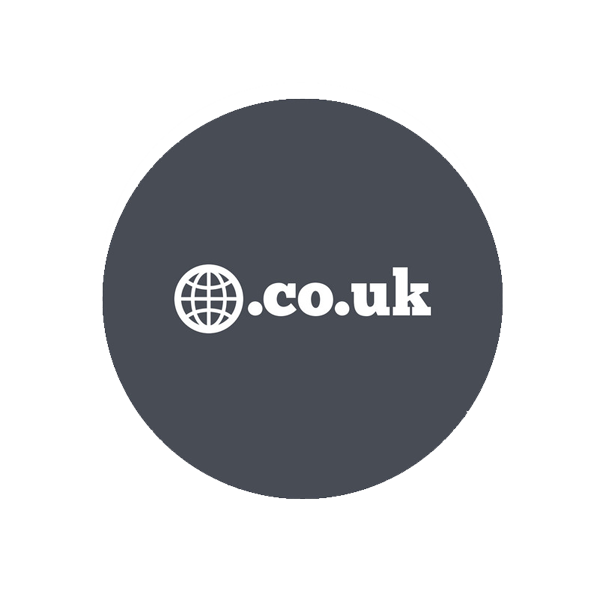 dot co dot uk domain logo
